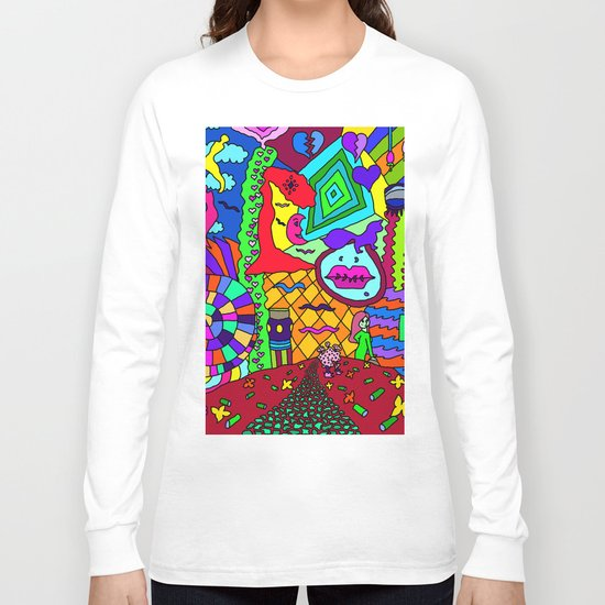 Abstract 32 Long Sleeve T-shirt