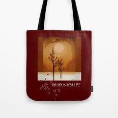 Burnout Tote Bag