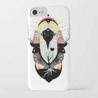 santa iPhone & iPod Cases featuring SANTA by Alba Blázquez