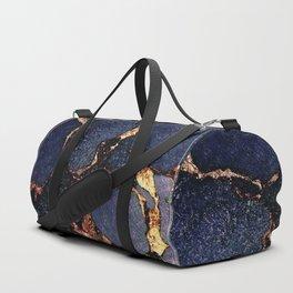 GEMSTONE & GOLD INDIGO Duffle Bag