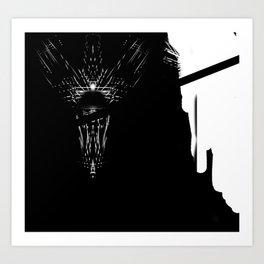 crystol vortex Art Print