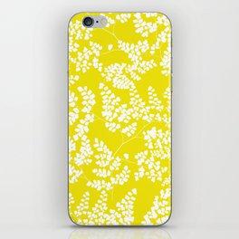 Spring Yellow iPhone Skin