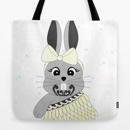Miss Rapeti (lemon) Tote Bag