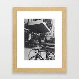 the shed Framed Art Print