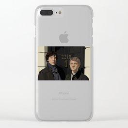 """""""221B"""" Clear iPhone Case"""