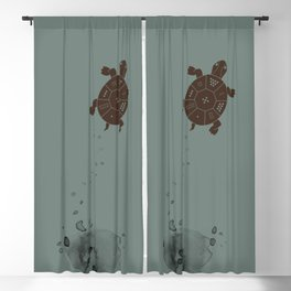 Lo Shu Turtle Blackout Curtain