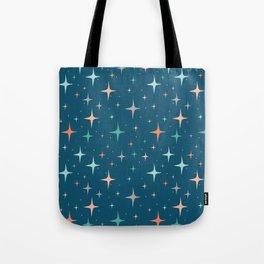 Stars in the night sky Tote Bag