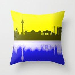 Berlin skyline 02 Throw Pillow