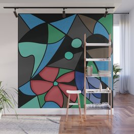 Abstract pattern Mosaic . Wall Mural