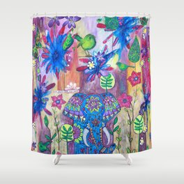 Live Gently Upon This Earth Shower Curtain