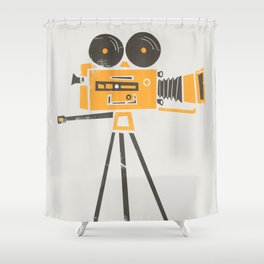 Cine Camera Shower Curtain