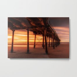 Under the Board Walk Metal Print