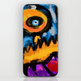 Speed and fury iPhone Skin