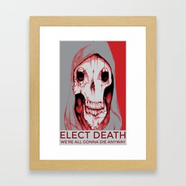 Third Party Candidate Framed Art Print