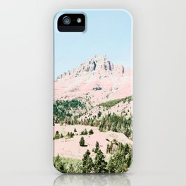 Happy Mountain #society6 #decor #buyart iPhone Case