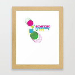 American Academy of Art Geometric Print  Framed Art Print