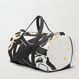 Medusa's Snakes Inktober :: Darlings, Don't Fear Me Duffle Bag