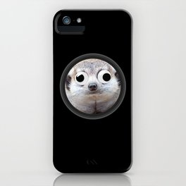 Meerkat with Googly Eyes iPhone Case