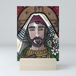 Joseph the Worker Mini Art Print