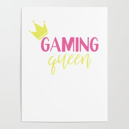 Gaming Queen Play Gemes Online Poster