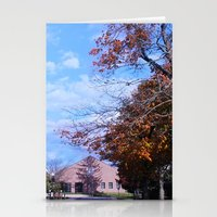 college Stationery Cards featuring College by Vickyyyy