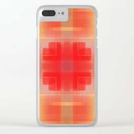 warm thoughts. 6e Clear iPhone Case
