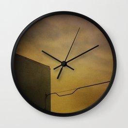 Alley Building #1 - 2015 Wall Clock