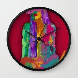 I love your shape Wall Clock