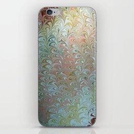 Soft Seaweed Water Marbling iPhone Skin