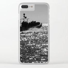 Search For Whales Clear iPhone Case