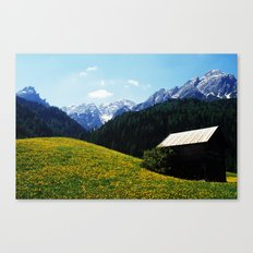 Somewhere in South Tyrol Canvas Print