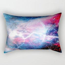 Starred Lightning Rectangular Pillow