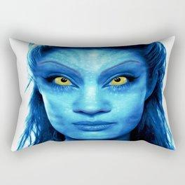 Angelina Jolie Avatar Rectangular Pillow