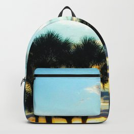 Glowing Palm Trees Backpack