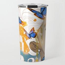 Butterflies Amazon Travel Mug