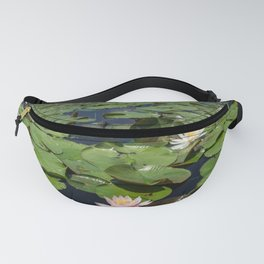 Lillypad Lotus Flower Fanny Pack