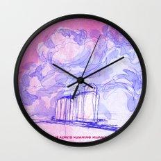 Grain Elevator Wall Clock