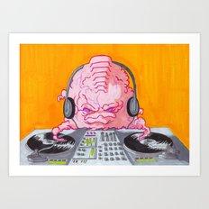 DJ Krang Art Print