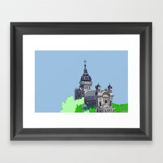 Basilica of St. Mary - Minneapolis, Minnesota Framed Art Print