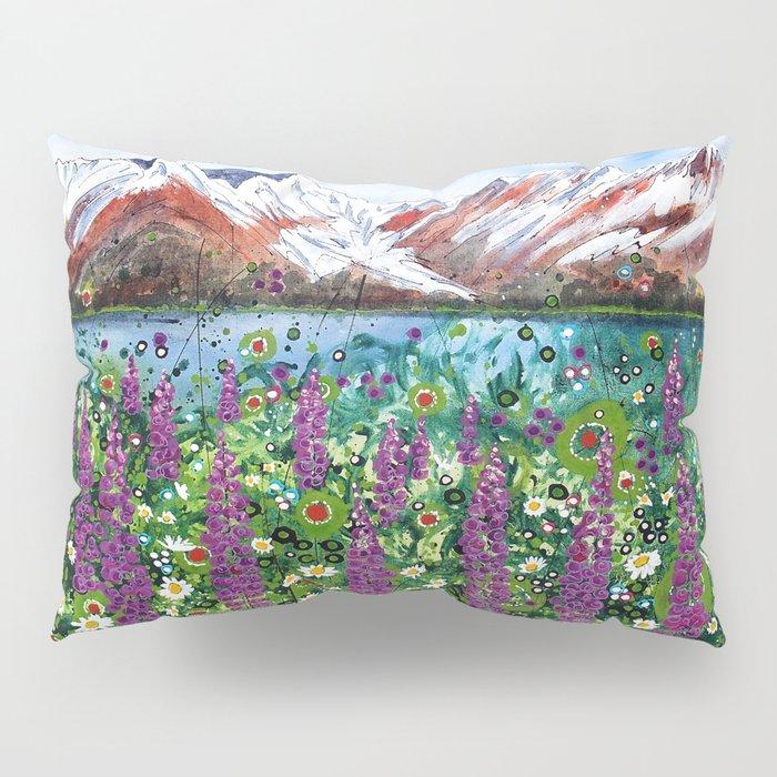 Carpathian in Lupine Pillow Sham