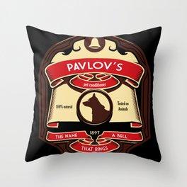 Pavlov's Conditioner Throw Pillow