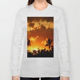 A Tropical Sunset Long Sleeve T-shirt