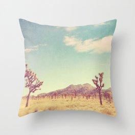 Joshua Tree photograph, desert print, No. 189 Throw Pillow