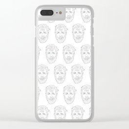 Mini but Hardy Clear iPhone Case