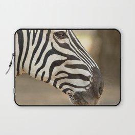 Common zebra (Equus quagga) Laptop Sleeve