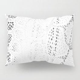 White Snake Skin Pillow Sham
