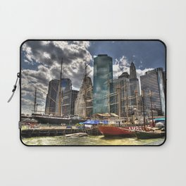 NYC Harbor, south seaport Laptop Sleeve