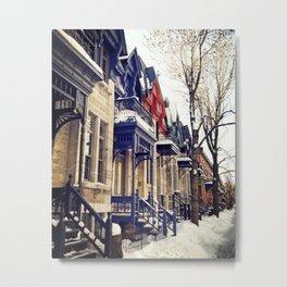 rue Laval -  Montreal Metal Print
