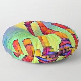 History Floor Pillow