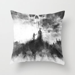 The Severed Ties Throw Pillow